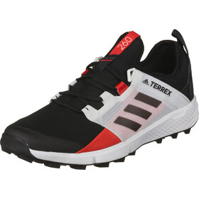 adidas TERREX Speed LD Zapatillas Trail Running Ligero Hombre, core black/core black/active red